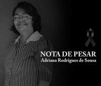 NOTA DE PESAR PELO FALECIMENTO DA EX: PRIMEIRA DAMA E EX: SECRETÁRIA DE SAÚDE DO MUNICÍPIO DE JOSÉ DE FREITAS